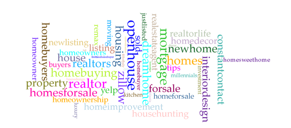What Are the Top Hashtags Used to Attract Homebuyers?